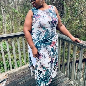 Floral Dress *Plus Size*